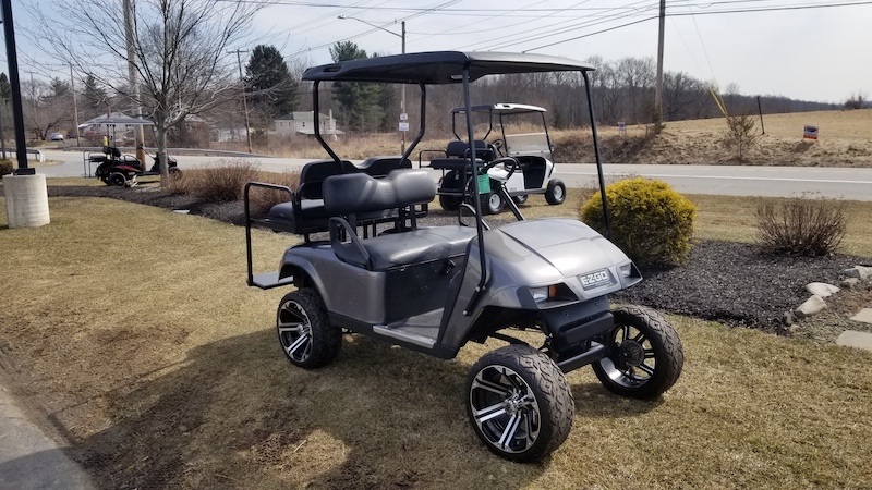 Used EZ Go Golf Cart - Making Cheapness and Quality Priorities